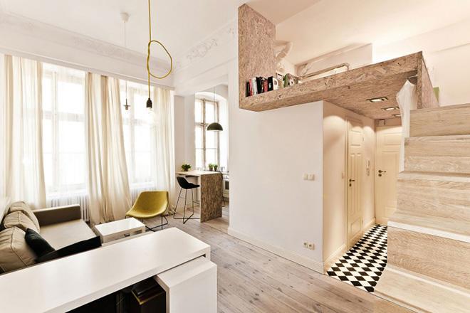 Elke centimeter telt kleine appartementen en studio s