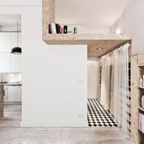 Elke centimeter telt: kleine appartementen en studio's (1)