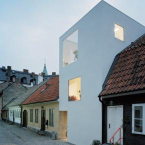 Eigenzinnige minimalistische woning in Lanskrona