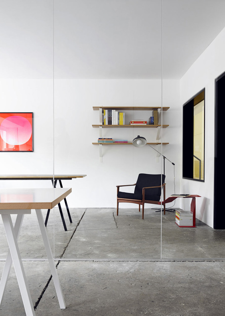Werkplek een oude ijzerfabriek wordt een studio for Office 15 design