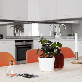 Prachtig wit Scandinavisch appartement te Stockholm: Pontonjärgatan 45