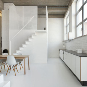 Open appartement te Brussel: Interieur FOR