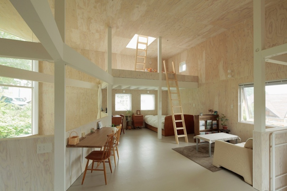 Woning In Multiplex Small Box House In Japan Allemaal