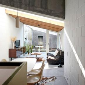 Rijwoning 12k te Gent door Dierendonck Blancke Architecten